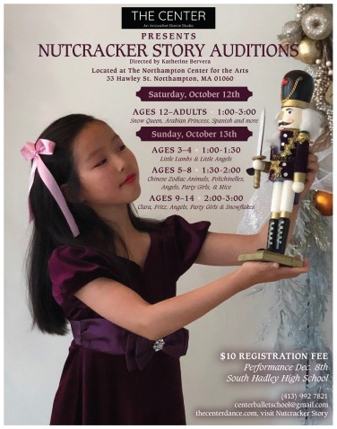 Nut audition poster 2